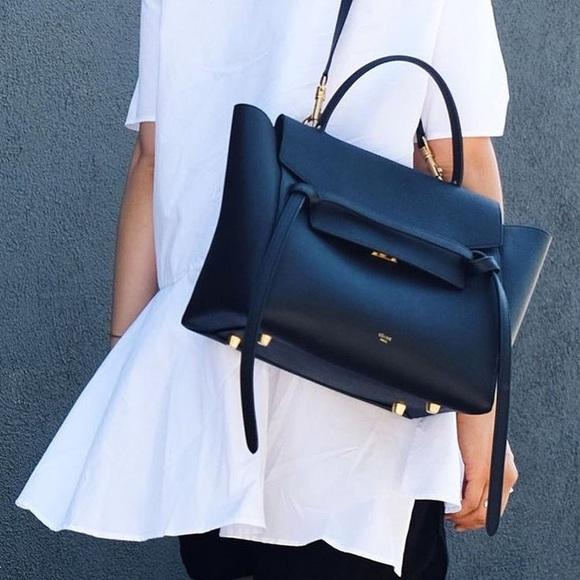 341f96f5fd96 Celine Handbags - Celine Mini Belt Bag